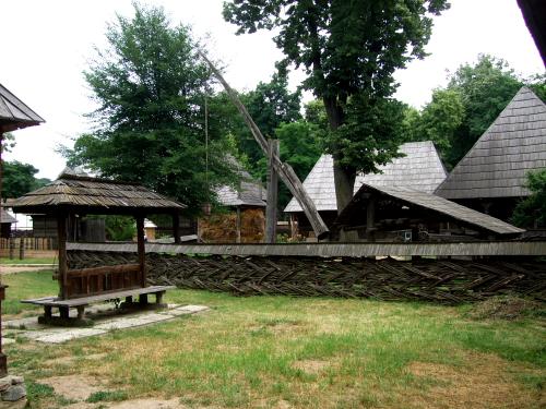 農村博物館の展示風景