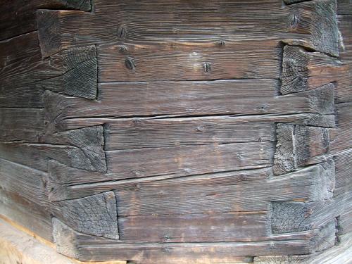 丸太の細工